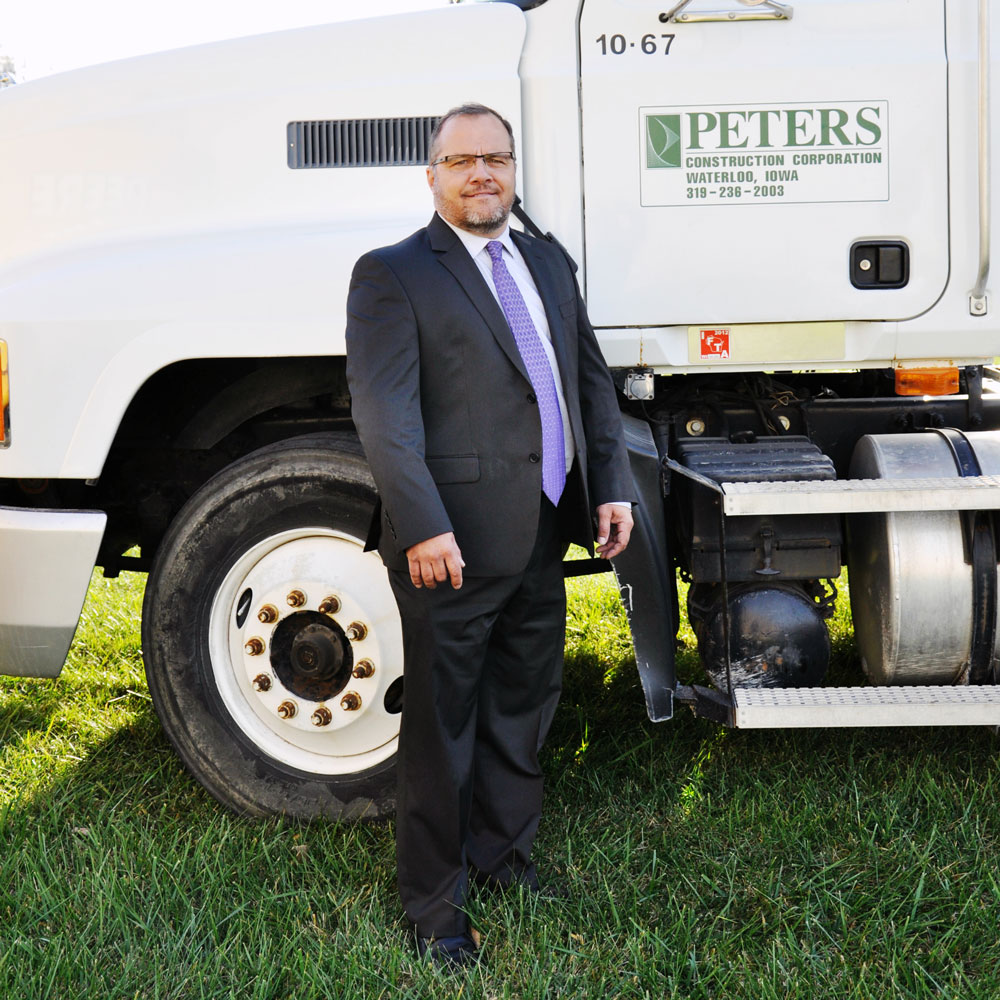 Peters Construction Corporation Darrin Gillett