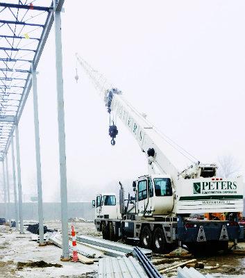 Peters Construction Crane
